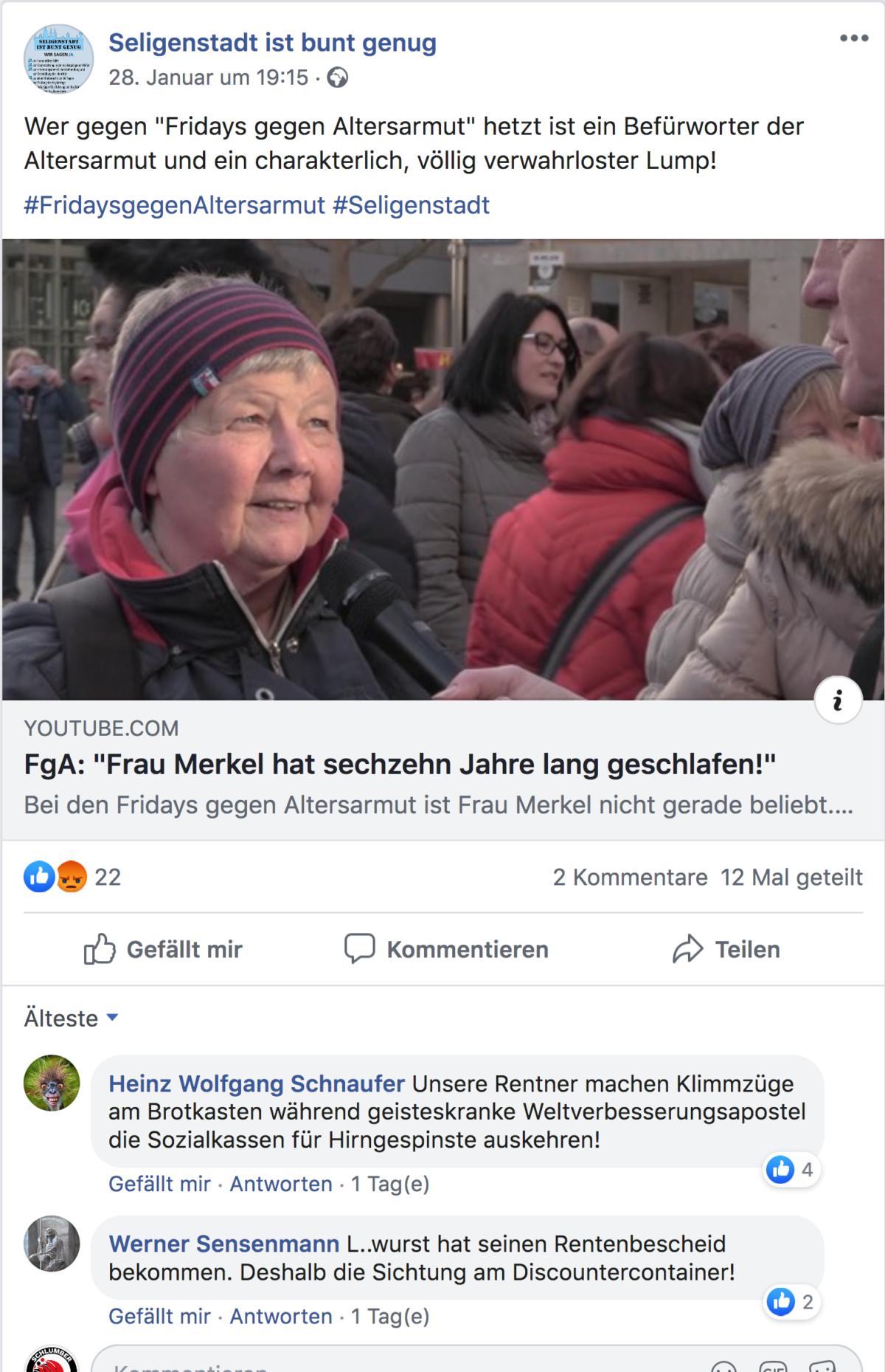 FgAS,Fridays gegen Altersarmut Seligenstadt pic_20959